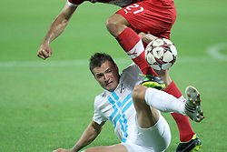 22.08.2013, Stadion Kantrida, Rijeka, CRO, UEFA EL Qualifikation, HNK Rijeka vs VfB Stuttgart, Hinspiel, im Bild Cristian Molinaro // during the UEFA Europa League Qualification first leg match between HNK Rijeka and VfB Stuttgar at Kantrida Stadium in Rijeka, Croatia on 2013/08/22. EXPA Pictures © 2013, PhotoCredit: EXPA/ Pixsell/ Nel Pavletic<br /> <br /> ***** ATTENTION - for AUT, SLO, SUI, ITA, FRA only *****