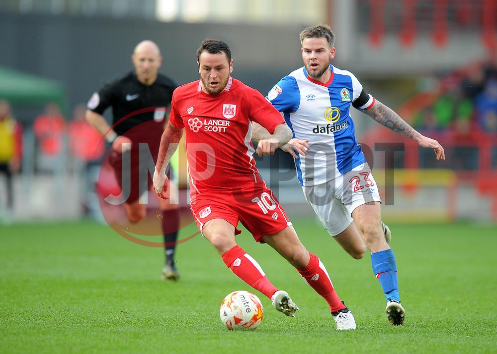 Lee Tomlin of Bristol City - Mandatory by-line: Paul Knight/JMP - 22/10/2016 - FOOTBALL - Ashton Gate Stadium - Bristol, England - Bristol City v Blackburn Rovers - Sky Bet Championship