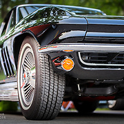 Low view Corvette
