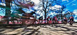 March 9, 2019 - Siena, Italia - Gian Mattia D'Alberto / lapresse.09-03-2019 Siena.Sport.Gara ciclistica Strade Bianche 2019 .nella foto: partenza gara uomini..Gian Mattia D'Alberto  / lapresse.2019-03-09 Siena.Strade Bianche 2019 .in the photo: men's race  start. (Credit Image: © Gian Mattia D'Alberto/Lapresse via ZUMA Press)