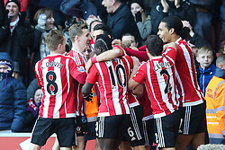 Goal, James Ward-Prowse of Southampton scores, Southampton 1-0 West Bromwich Albion - Mandatory by-line: Jason Brown/JMP - 07966386802 - 16/01/2016 - FOOTBALL - Southampton, St Mary's Stadium - Southampton v West Bromwich Albion - Barclays Premier League