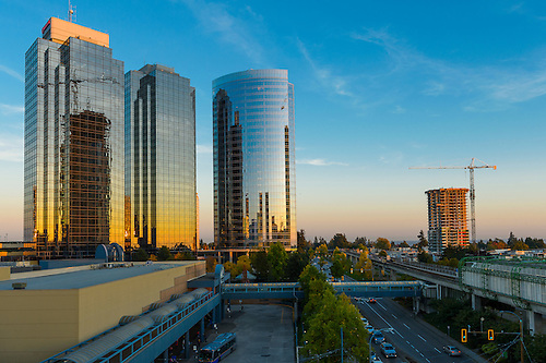Metro Towers Office Complex In Burnaby BC.
