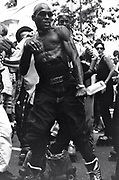 Dancer at Notting Hill Carnival, 1994.