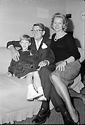 American actress Virginia Mayo and her family.<br /> 03.10.1961