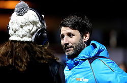 Lincoln City manager Danny Cowley is interviewed ahead of his sides FA Cup replay against Ipswich Town - Mandatory by-line: Robbie Stephenson/JMP - 17/01/2017 - FOOTBALL - Sincil Bank Stadium - Lincoln, England - Lincoln City v Ipswich Town - Emirates FA Cup third round replay