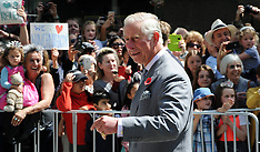 Nelson-Royals, Prince Charles and Camilla in public walkabout