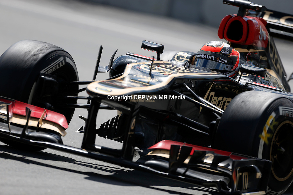 MOTORSPORT - F1 2013 - GRAND PRIX OF CANADA - MONTREAL (CAN) - 07 TO 09/06/2013 - PHOTO FRANCOIS FLAMAND / DPPI - RAIKKONEN KIMI (FIN) - LOTUS E21 RENAULT - ACTION