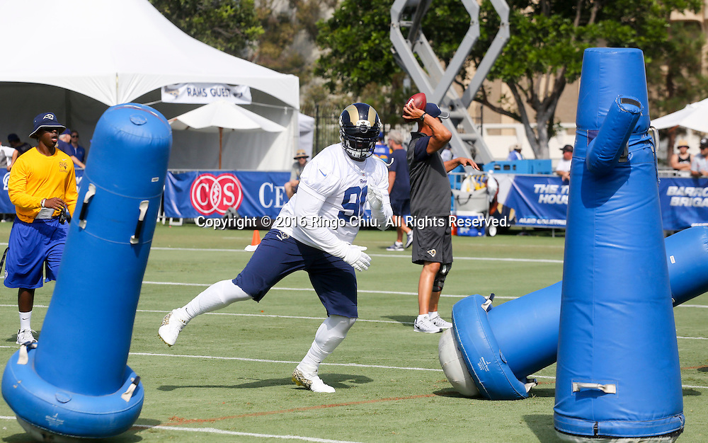 Los Angeles Rams practice at UC Irvine campus.<br /> (Photo by Ringo Chiu/PHOTOFORMULA.com)<br /> <br /> Usage Notes: This content is intended for editorial use only. For other uses, additional clearances may be required.