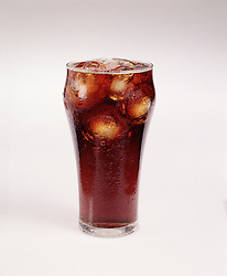 ice cold glass cola coke drink frosty