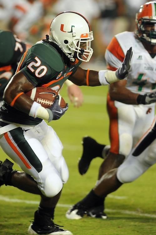 2009 Miami Hurricanes Football vs FAMU