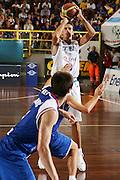 DESCRIZIONE : Cagliari Qualificazione Eurobasket 2009 Serbia Italia <br /> GIOCATORE : Luigi Datome <br /> SQUADRA : Nazionale Italia Uomini <br /> EVENTO : Raduno Collegiale Nazionale Maschile <br /> GARA : Serbia Italia Serbia Italy <br /> DATA : 20/08/2008 <br /> CATEGORIA : Tiro <br /> SPORT : Pallacanestro <br /> AUTORE : Agenzia Ciamillo-Castoria/S.Silvestri <br /> Galleria : Fip Nazionali 2008 <br /> Fotonotizia : Cagliari Qualificazione Eurobasket 2009 Serbia Italia <br /> Predefinita :
