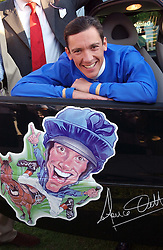 Uockey FRANKIE DETTORI  at the Royal Windsor Charity Race Evening in aid of the Great Ormond Street Hospital Children's Charity held at Windsor Racecourse, Berkshire on 5th July 2004.