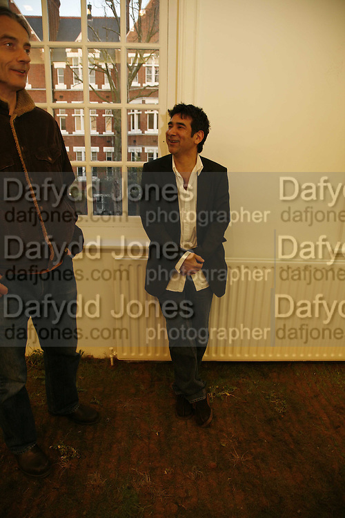 Jacques Nimki. PV Jacques Nimki, The Approach. 5 April 2006. ONE TIME USE ONLY - DO NOT ARCHIVE  © Copyright Photograph by Dafydd Jones 66 Stockwell Park Rd. London SW9 0DA Tel 020 7733 0108 www.dafjones.com