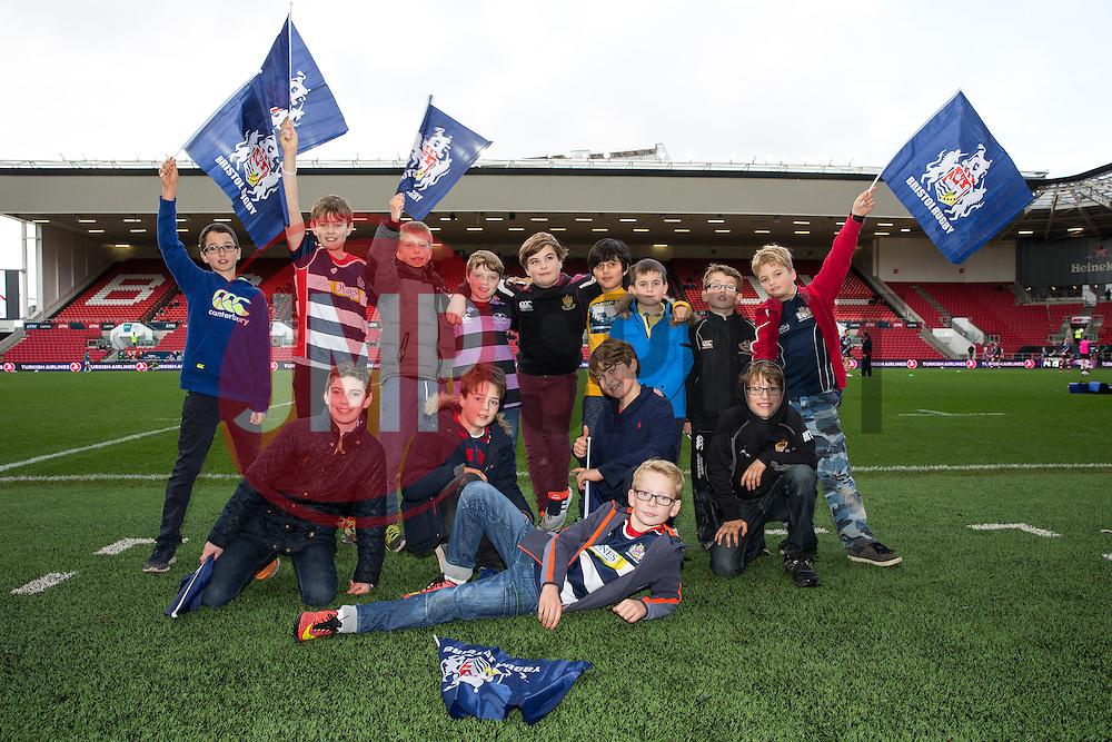 Birthday Parties - Rogan Thomson/JMP - 11/12/2016 - RUGBY UNION - Ashton Gate Stadium - Bristol, England - Bristol Rugby v Pau - European Rugby Challenge Cup.