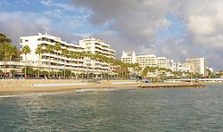 10.01.2012, Marbella, Spanien, ESP, Marbella im Focus, im Bild Strand von Marbella, Andalusien, Spanien. EXPA Pictures © 2012, PhotoCredit: EXPA/ Eibner/ Andre Latendorf..***** ATTENTION - OUT OF GER *****