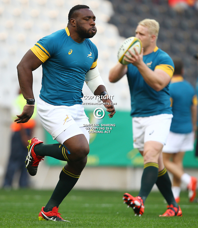 Nelspruit, SOUTH AFRICA, 20 August, 2016 - Tendai Mtawarira of South Africa during the match between South Africa and Argentina in The Rugby Championship at the Mbombela Stadium, Nelspruit (Photo by Steve Haag UAR)
