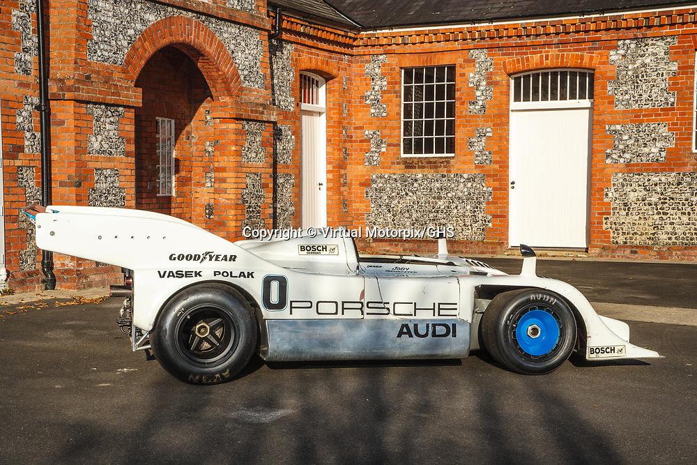 Porsche 917/10-018 (1973) Jody Scheckter, photographed at Laverstoke House, Overton, UK, 2017