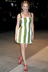 59603750 .Kylie Minogue at the opening party of Dolce & Gabbana Flagship Store on the 5th Avenue New York, USA, May 04, 2013. Photo by: i-Images.UK ONLY