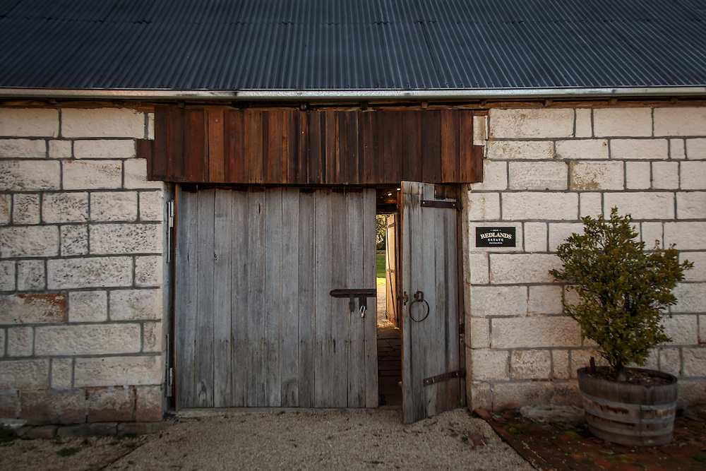 The entrance at Redlands Estate Distillery in Plenty, Tasmania, August 25, 2015. Gary He/DRAMBOX MEDIA LIBRARY