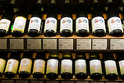 Mosel wine Forstmeister Geltz Zilliken, Holger Koch and others in Wine Department at Dallmayr store in Munich, Bavaria, Germany