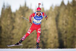 Ole Einer Bjoerndalen (NOR) during Men 10 km Sprint of the IBU Biathlon World Cup Pokljuka on Thursday, December 16, 2015 in Pokljuka, Slovenia. Photo by Ziga Zupan / Sportida