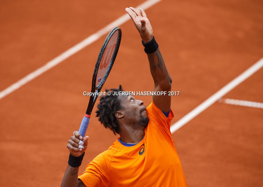 GAEL MONFILS (FRA)<br /> <br /> Tennis - BMW Open 2017 -  ATP  -  MTTC Iphitos - Munich -  - Germany  - 4 May 2017.