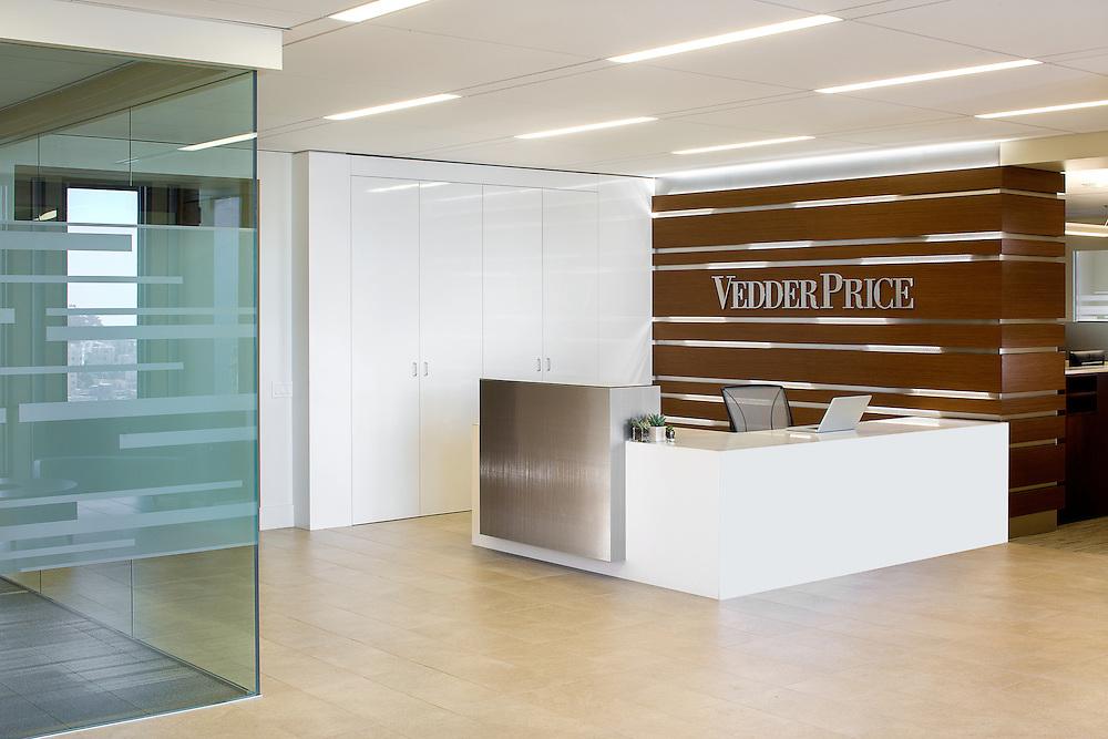 Interior of Vedder Price San Francisco office
