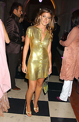 FRANCESCA VERSACE at Andy & Patti Wong's annual Chinese New Year party, this year celebrating the year of the dog held at The Royal Courts of Justice, The Strand, London WC2 on 28th January 2006.<br /><br />NON EXCLUSIVE - WORLD RIGHTS