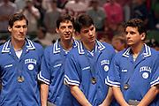 Europei Roma 1991 - Premiazioni - Medaglia d'ArgentoFoto: Fabio Ramani