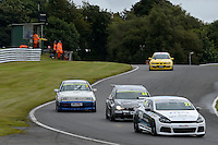 #27 Tim Docker VW Scirocco during the Maximumgroup.net VAG Trophy at Oulton Park, Little Budworth, Cheshire, United Kingdom. August 20 2016. World Copyright Peter Taylor/PSP.