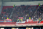 LYON - 23-02-2017, Olympique Lyon - AZ, Parc Olympique Lyonnais Stadion, uitvak met 700 AZ supporters.