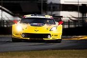 January 24-28, 2018. IMSA Weathertech Series ROLEX Daytona 24. 3 Corvette Racing, Corvette C7.R, Jan Magnussen, Antonio Garcia, Mike Rockenfeller