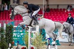 RUTSCHI Niklaus (SUI), CLEARWATER<br /> Münster - Turnier der Sieger 2019<br /> BRINKHOFF'S NO. 1 -  Preis<br /> CSI4* - Int. Jumping competition  (1.50 m) -<br /> 1. Qualifikation Grosse Tour <br /> Large Tour<br /> 02. August 2019<br /> © www.sportfotos-lafrentz.de/Stefan Lafrentz