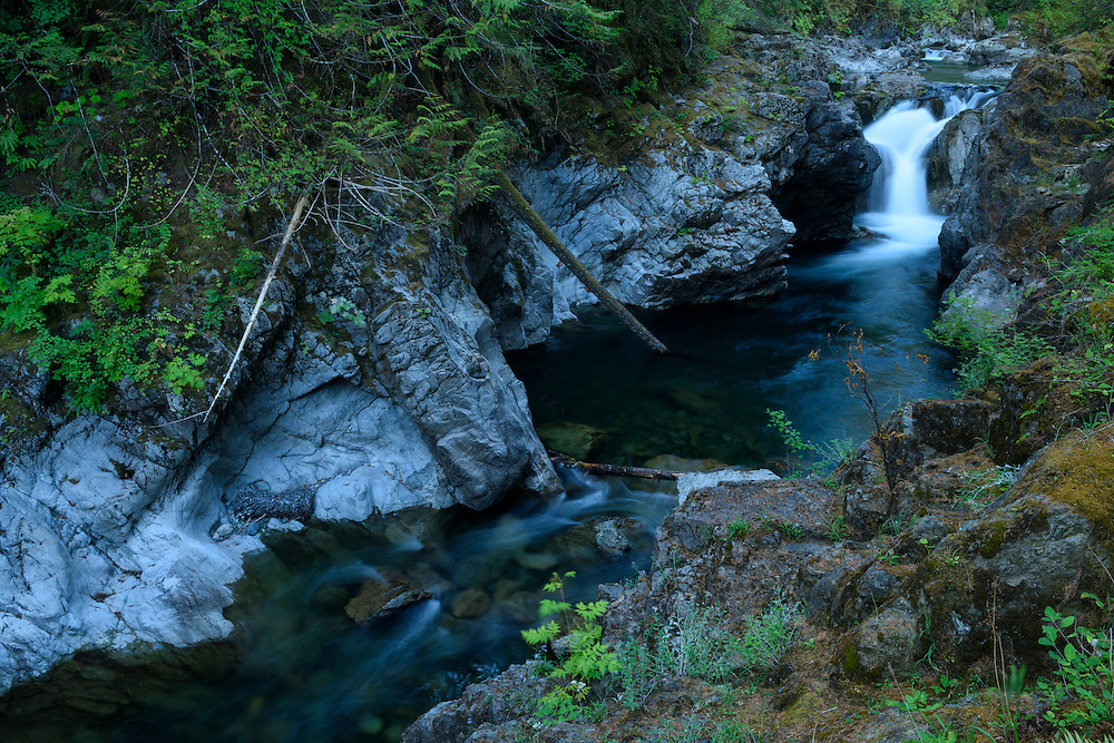 Canada, British Columbia Vancouver Island, Port Alberni, Little Qualicum Falls,