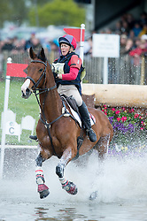 Lockwood Louisa (GBR) - Ballyfarris Flight<br /> Cross Country - CCI4* <br /> Mitsubishi Motors Badminton Horse Trials 2014 <br /> © Hippo Foto - Jon Stroud