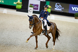 Witte-Vrees Madeleine, NED, Cennin<br /> The Dutch Masters<br /> Indoor Brabant - 's Hertogen bosch 2018<br /> © Hippo Foto - Dirk Caremans<br /> 09/03/2018
