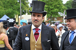 HRH PRINCE FAISAL BIN SALMAN at day 2 of the 2011 Royal Ascot Racing festival at Ascot Racecourse, Ascot, Berkshire on 15th June 2011.
