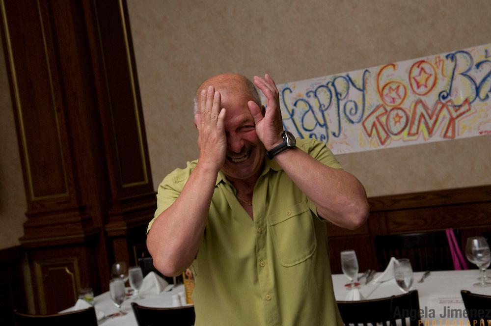 Tony Tenisci's suprise birthday party in Philadelphia. September 9, 2009. ..Photo by Angela Jimenez .www.angelajimenezphotography.com