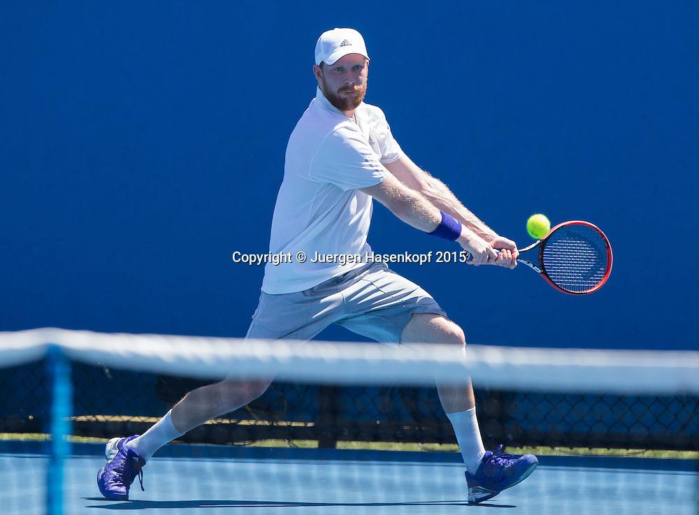 Matthias Bachinger (GER)<br /> <br />  - Australian Open 2015 -  -  Melbourne Park Tennis Centre - Melbourne - Victoria - Australia  - 22 January 2015. <br /> &copy; Juergen Hasenkopf