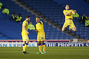 Leeds United midfielder, Liam Bridcutt during the Sky Bet Championship match between Brighton and Hove Albion and Leeds United at the American Express Community Stadium, Brighton and Hove, England on 29 February 2016. Photo by Phil Duncan.
