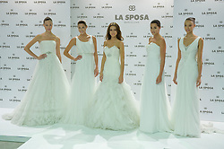 © Spanish model Raquel Jimenez presents La Sposa collection 2013 at Q17 studio, SPAIN (MADRID), October 4, 2012. Photo by Oscar Gonzalez / i-Images..SPAIN OUT