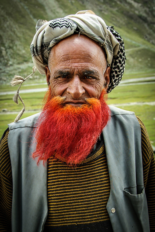 Mountain shepherd from Kachemir. <br />