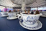 Linnanmäki (Borgbacken) Luna Park. Coffee cup caroussel.