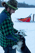 White Wilderness Sled Dog Adventure<br /> Action<br /> Boundary Waters/Ely, MN, USA<br /> 1/20/2015<br /> X159190 TK1<br /> Credit: Tom Lynn<br /> White Wilderness Sled Dog Adventures based outside of Ely, MN.  A backcountry trip through the Boundary Waters of northern Minnesota along the Canadian border on a dog sled with 5 other mushers.White Wilderness Sled Dog Adventures based outside of Ely, MN.  A backcountry trip through the Boundary Waters of northern Minnesota along the Canadian border on a dog sled with 5 other mushers.White Wilderness Sled Dog Adventures based outside of Ely, MN.  A backcountry trip through the Boundary Waters of northern Minnesota along the Canadian border on a dog sled with 5 other mushers.White Wilderness Sled Dog Adventures based outside of Ely, MN.  A backcountry trip through the Boundary Waters of northern Minnesota along the Canadian border on a dog sled with 5 other mushers.