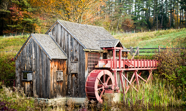 A private water mill in Guildhall, Vermont.  All Content is Copyright of Kathie Fife Photography. Downloading, copying and using images without permission is a violation of Copyright.