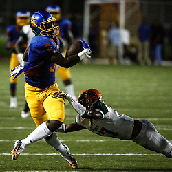 Landry Walker football action