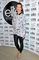 Izzy Lawrence arriving at the final of the Elite Model Look 2012 competition in London on Thursday, 30th August 2012.  Photo by: Chris Joseph / i-Images