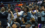 Livingstone fans always show up in force to support their teams during the CIAA Tournament.