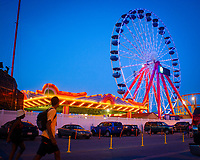 Ferris wheel ride, Ocean City, Maryland.
