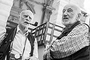 Gianni Berengo Gardin, Ferdinando Scianna, Reggio Emilia, June 10, 2017